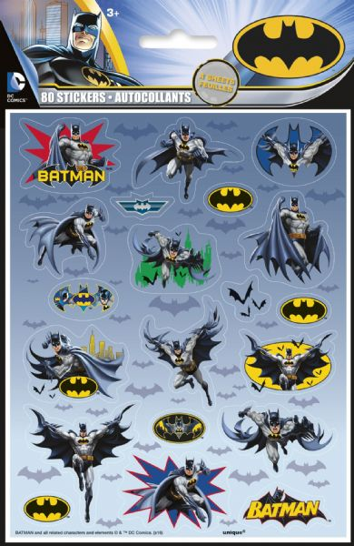 Batman Sticker Sheets (4)